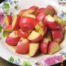 麻油樱桃小萝卜