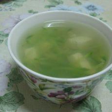 豆腐萝卜清虾汤