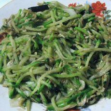 虾皮炒萝卜丝