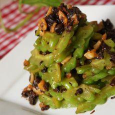 蒜茸豉香苦瓜的做法