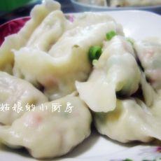 时蔬翡翠饺