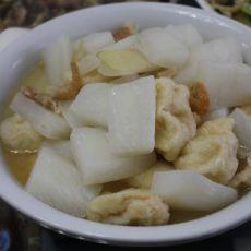瑶柱虾米萝卜汤