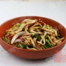 芹菜炒油豆腐