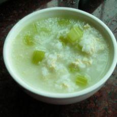 芹菜鸡肉粥