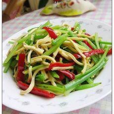 芹菜丝炒豆丝