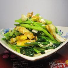 蛋香蒜茸芹菜