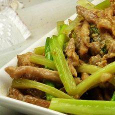 肉丝炒芹菜
