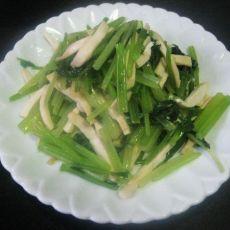 茶干炒芹菜