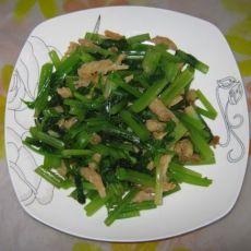 大海米拌芹菜