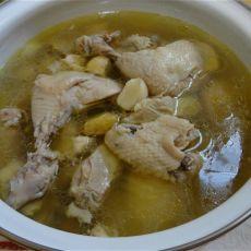 蒜头清炖鸡