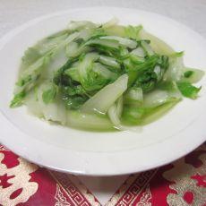 蚝油杭白菜