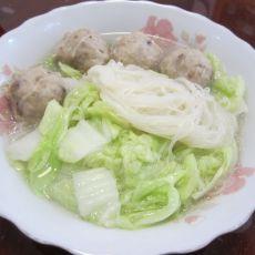 大骨米粉汤