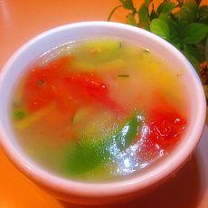 青椒面絮汤