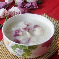 木槿花糯米粥