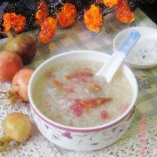 石榴花糯米粥