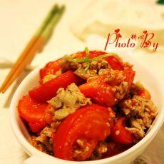 鲮鱼茸炒番茄的做法