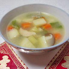 五色鲜蔬汤
