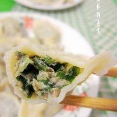 香菜猪肉水饺