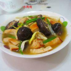 豆腐烧香菇的做法