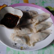萝卜韭菜饺子