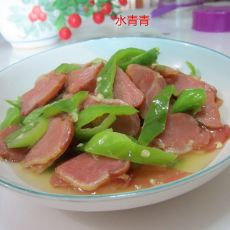 辣炒精条肉