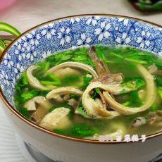 简易美味羊杂汤