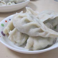 油菜猪肉水饺