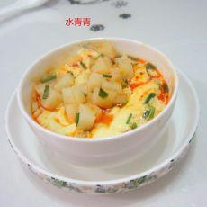 葱香米豆腐蛋羹