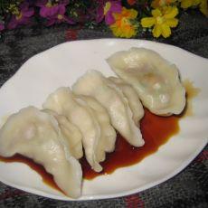 圆白菜鲍菇鲜肉饺