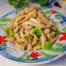 蟹味菇炒肉