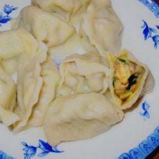 韭菜虾仁香菇饺子