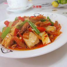虾香嫩豆腐