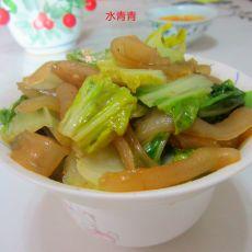白菜煮粉皮
