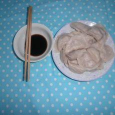白菜面丁饺子