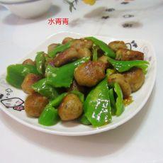 生炒荸荠猪肉丸子