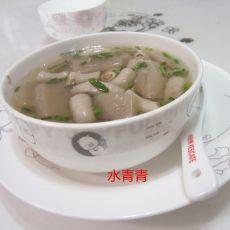 小肠蘑芋豆腐汤