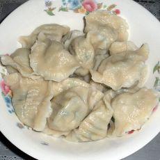 白菜韭菜素水饺