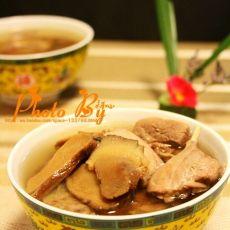 牛蒡煲水鸭汤