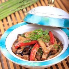 蚝油豆腐煲