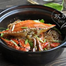 螃蟹粉丝煲