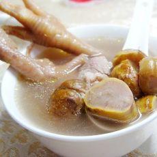 栗子鸡爪汤的做法