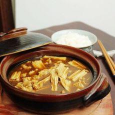 砂锅腐竹煲的做法