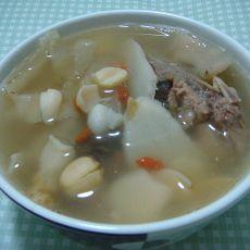 清补凉骨头汤的做法