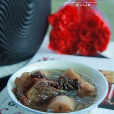 赤豆莲藕骨头汤的做法