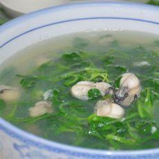 海蛎毛菜汤
