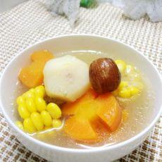 胡萝卜玉米马蹄猪骨汤
