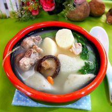 牛蒡淮山排骨汤的做法
