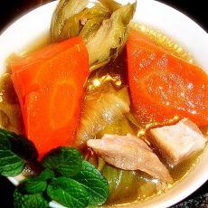 红萝卜剑花汤