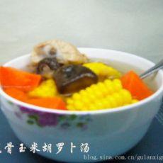 胡罗卜玉米龙骨汤的做法