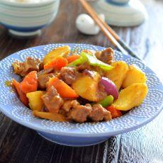 咖喱牛腩土豆的做法